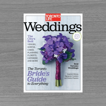 2013 Toronto Life Weddings Guide