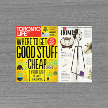 2013 Toronto Life Glasses Feature